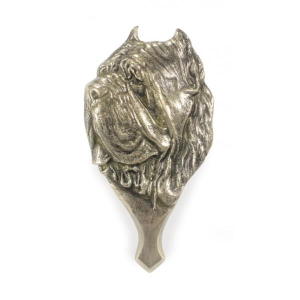 Neapolitan Mastiff - knocker (brass) - 336 - 7330