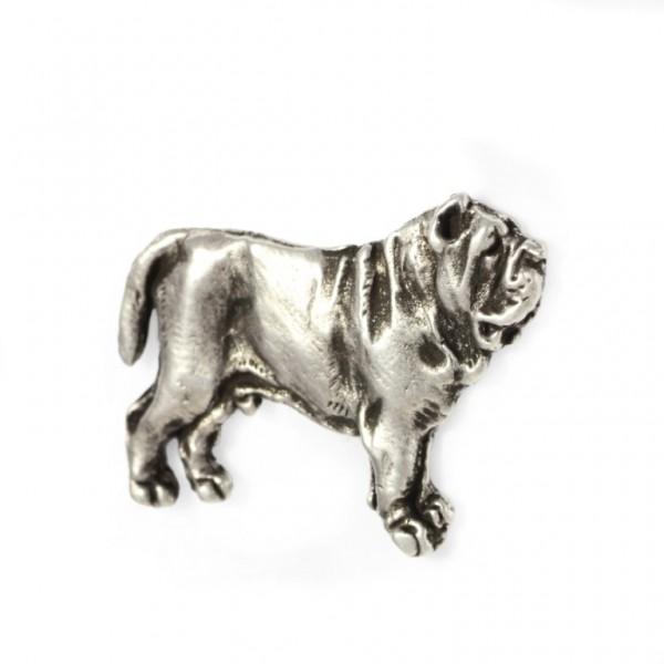 Neapolitan Mastiff - pin (silver plate) - 446 - 22225