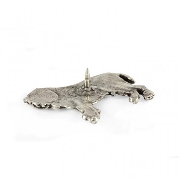 Neapolitan Mastiff - pin (silver plate) - 446 - 22226