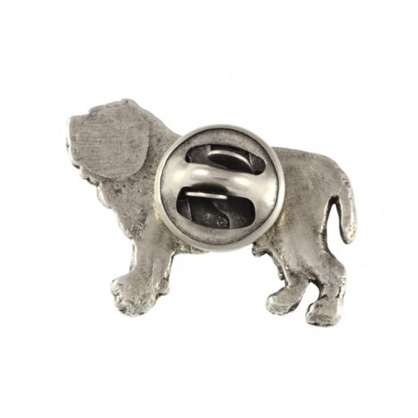 Neapolitan Mastiff - pin (silver plate) - 446 - 22227