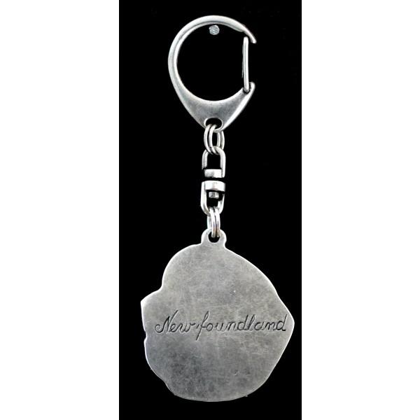 Newfoundland  - keyring (silver plate) - 25 - 9231