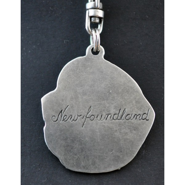 Newfoundland  - keyring (silver plate) - 25 - 171