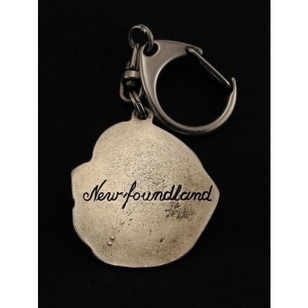Newfoundland  - keyring (silver plate) - 25 - 9232