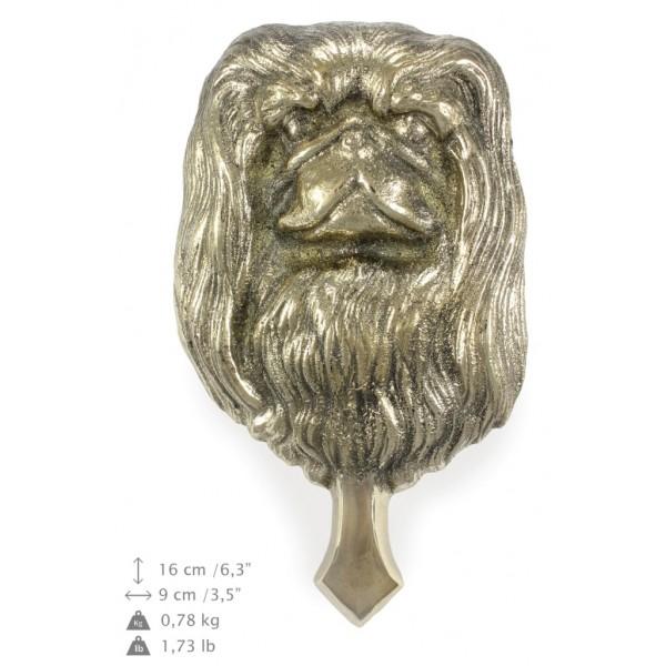 Pekingese - knocker (brass) - 337 - 7341