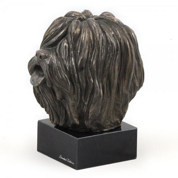 Polish Lowland Sheepdog - figurine (bronze) - 266 - 3005