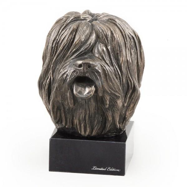 Polish Lowland Sheepdog - figurine (bronze) - 266 - 3006