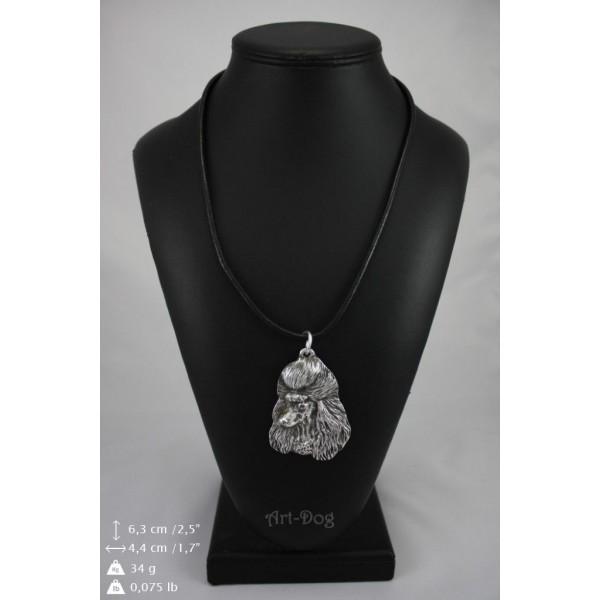 Poodle - necklace (strap) - 385 - 9014