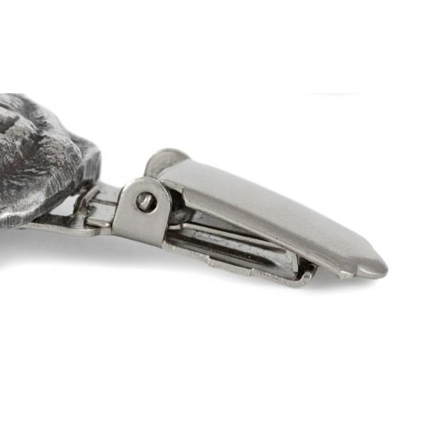 Pug - clip (silver plate) - 276 - 26334
