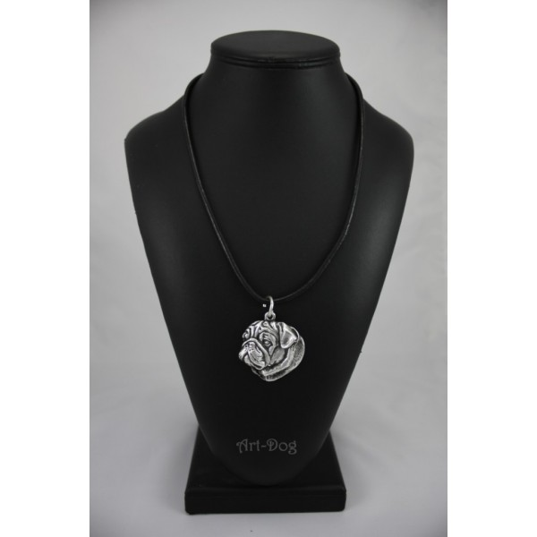 Pug - necklace (strap) - 136 - 691