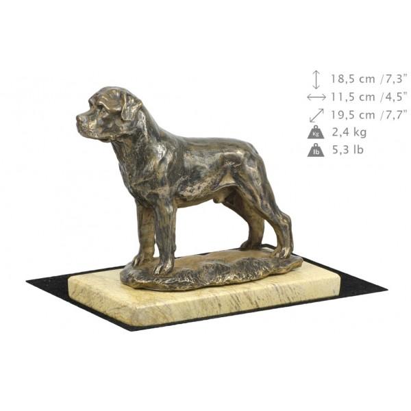 Rottweiler - figurine (bronze) - 4683 - 41846