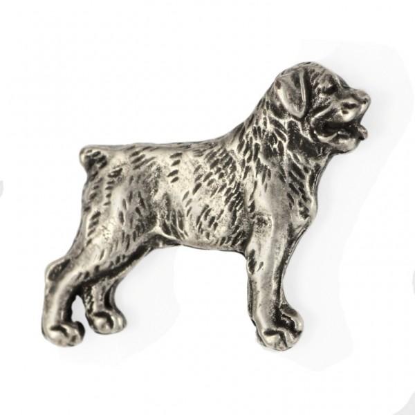Rottweiler - pin (silver plate) - 460 - 25950