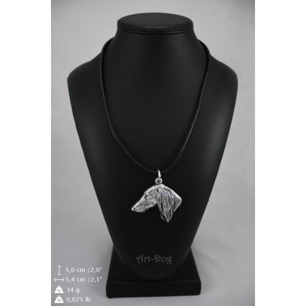 Saluki - necklace (strap) - 143 - 8958