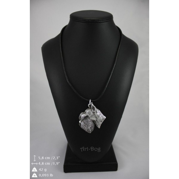Schnauzer - necklace (strap) - 182 - 8968