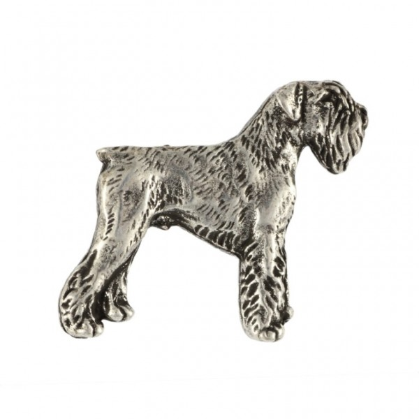 Schnauzer - pin (silver plate) - 443 - 25863