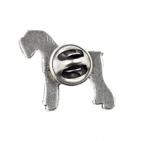 Schnauzer - pin (silver plate) - 443 - 25865