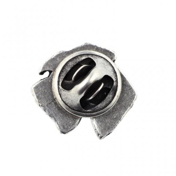 Schnauzer - pin (silver plate) - 467 - 25974