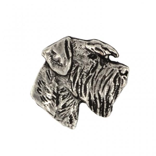 Schnauzer - pin (silver plate) - 467 - 25977