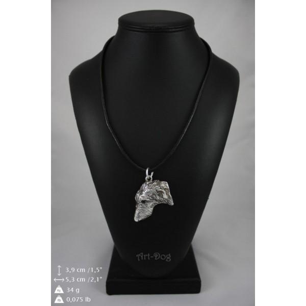 Scottish Deerhound - necklace (strap) - 428 - 9040