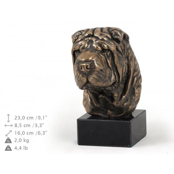 Shar Pei - figurine (bronze) - 302 - 9181
