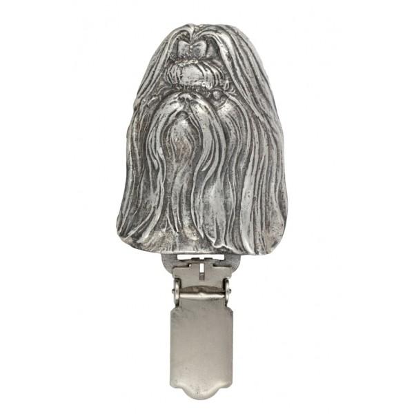 Shih Tzu - clip (silver plate) - 246 - 26218