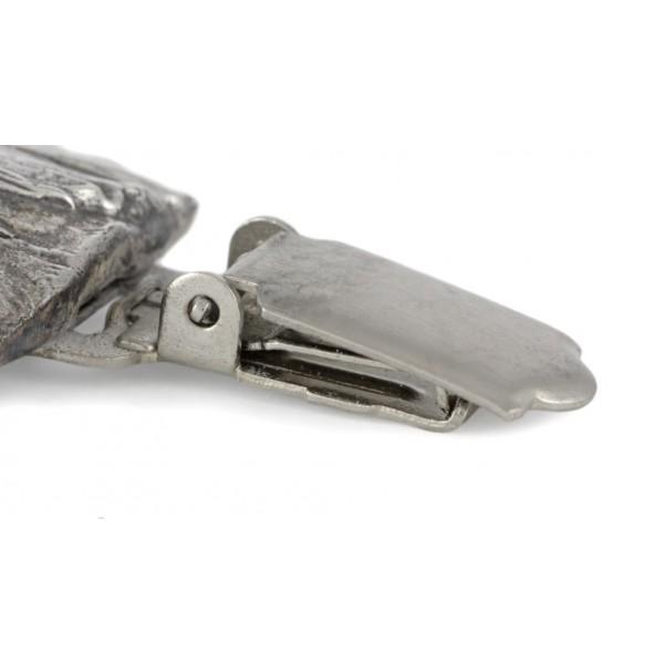 Shih Tzu - clip (silver plate) - 246 - 26220