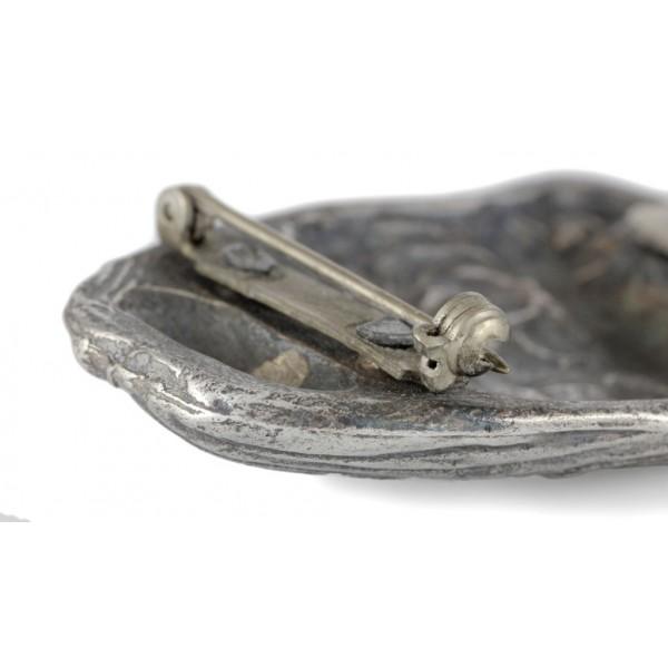 Shih Tzu - clip (silver plate) - 246 - 26222