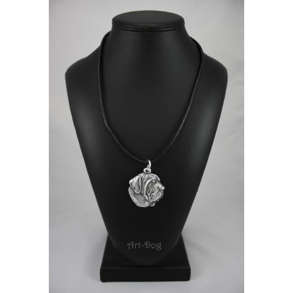 Spanish Mastiff - necklace (strap) - 398 - 1428