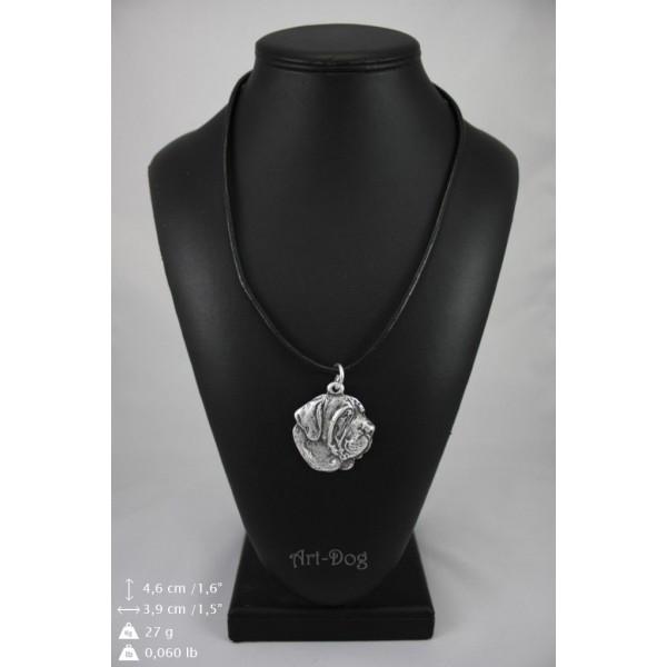 Spanish Mastiff - necklace (strap) - 398 - 9027