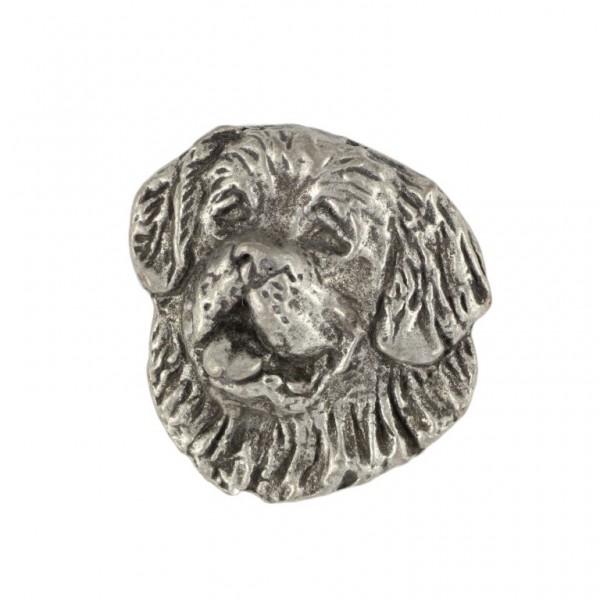 St. Bernard - pin (silver plate) - 454 - 25918