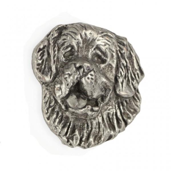 St. Bernard - pin (silver plate) - 454 - 25919