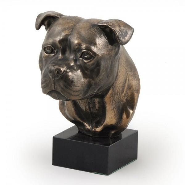 Staffordshire Bull Terrier - figurine (bronze) - 304 - 3016