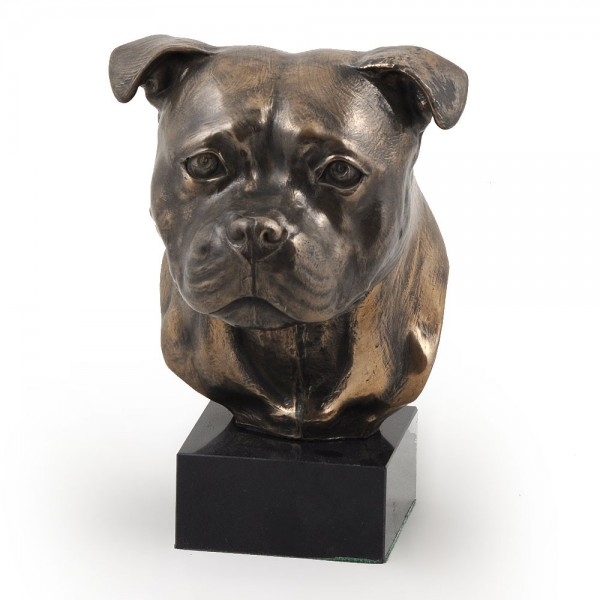 Staffordshire Bull Terrier - figurine (bronze) - 304 - 3017