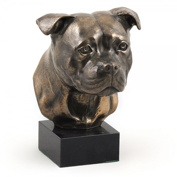 Staffordshire Bull Terrier - figurine (bronze) - 304 - 3018