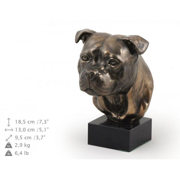 Staffordshire Bull Terrier - figurine (bronze) - 304 - 9183