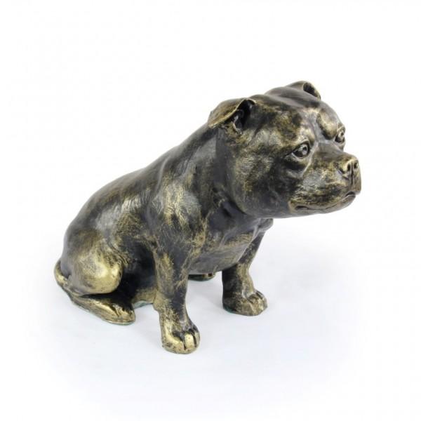 Staffordshire Bull Terrier - figurine (resin) - 366 - 16294