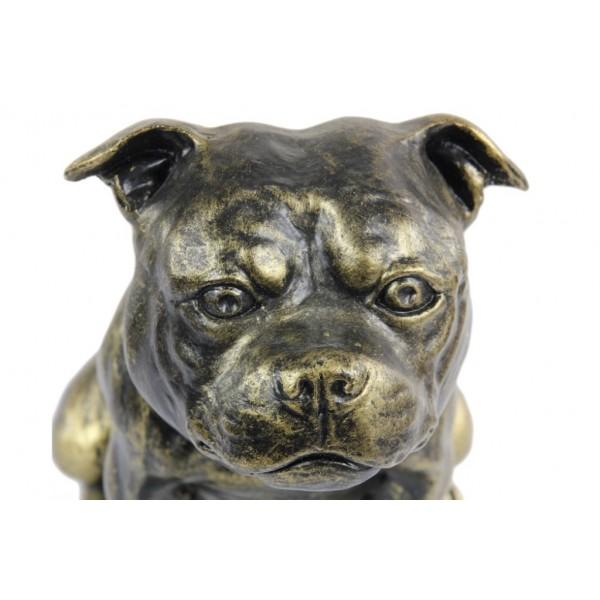 Staffordshire Bull Terrier - figurine (resin) - 366 - 16296
