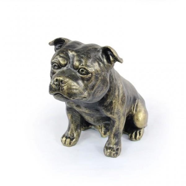 Staffordshire Bull Terrier - figurine (resin) - 366 - 16286