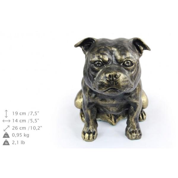 Staffordshire Bull Terrier - figurine (resin) - 366 - 16287