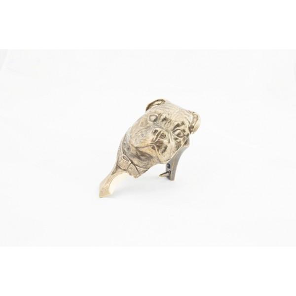 Staffordshire Bull Terrier - knocker (brass) - 340 - 21808