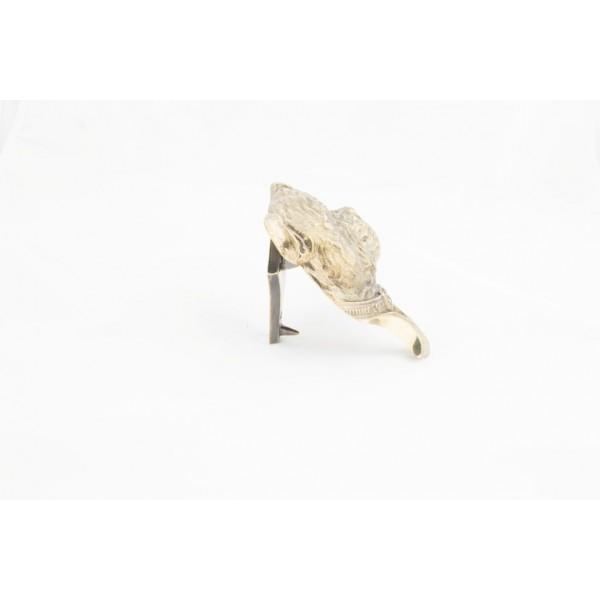 Staffordshire Bull Terrier - knocker (brass) - 340 - 21819