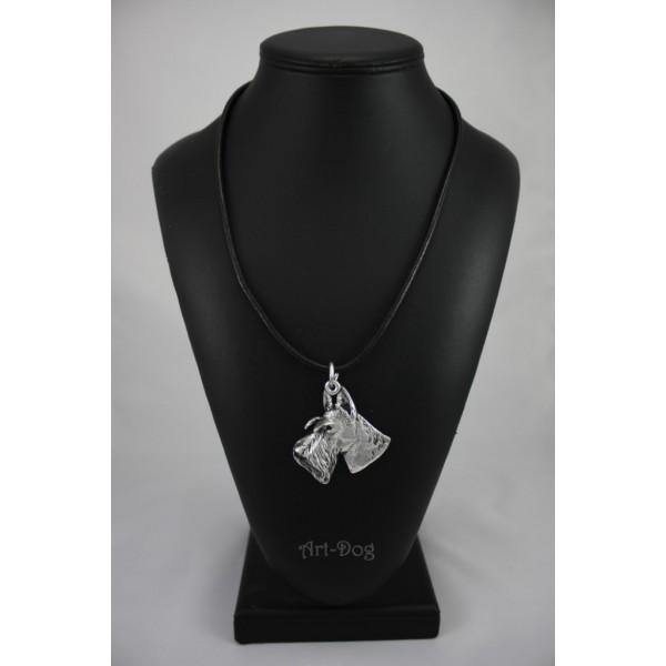 Scottish Terrier - necklace (strap) - 235 - 907