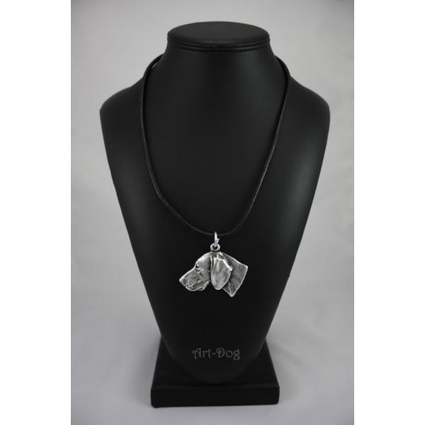 Weimaraner - necklace (strap) - 332 - 1277