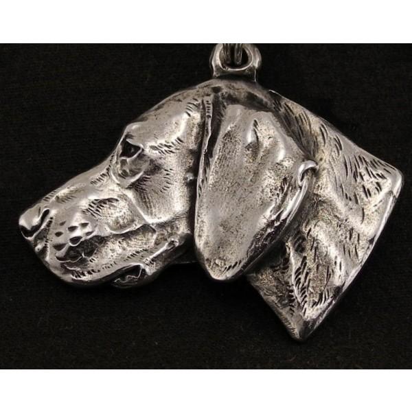 Weimaraner - necklace (strap) - 332 - 1278