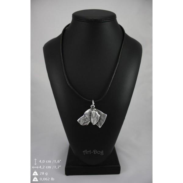 Weimaraner - necklace (strap) - 332 - 9003