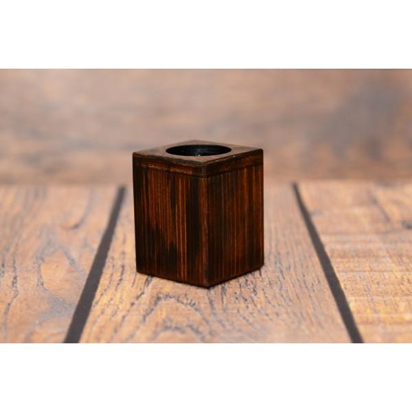 Welsh Corgi Cardigan - candlestick (wood) - 3963 - 37720