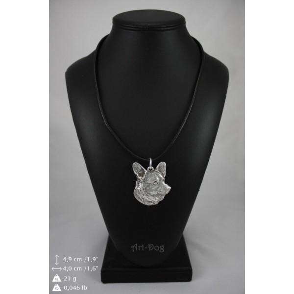 Welsh Corgi Cardigan - necklace (strap) - 418 - 9035