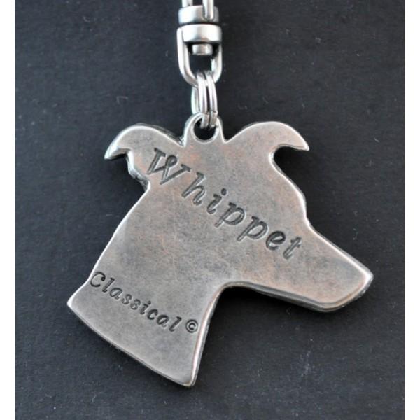 Whippet - keyring (silver plate) - 43 - 267