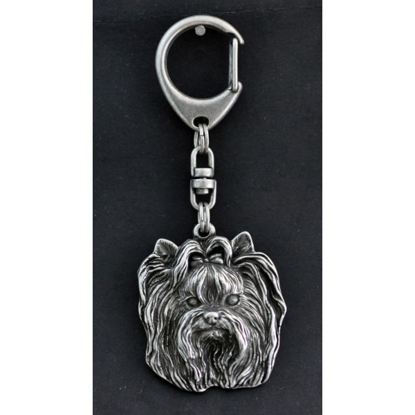 Yorkshire Terrier - keyring (silver plate) - 35 - 226