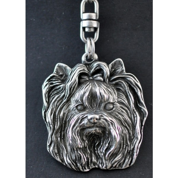 Yorkshire Terrier - keyring (silver plate) - 35 - 227