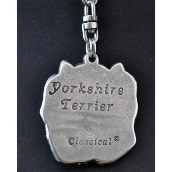 Yorkshire Terrier - keyring (silver plate) - 35 - 228